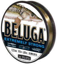 Beluga  fishing line