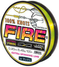 Fire  fishing line